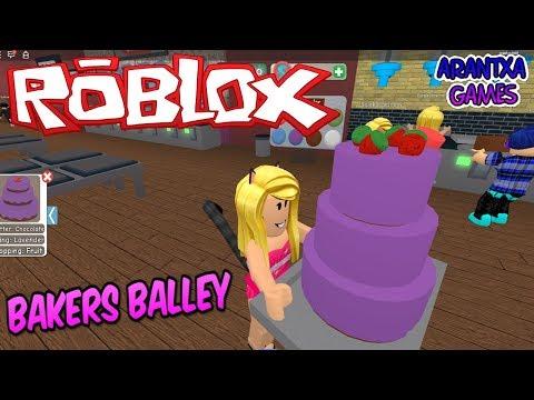 Hago mis propias tartas y pasteles en ROBLOX Bakers Valley