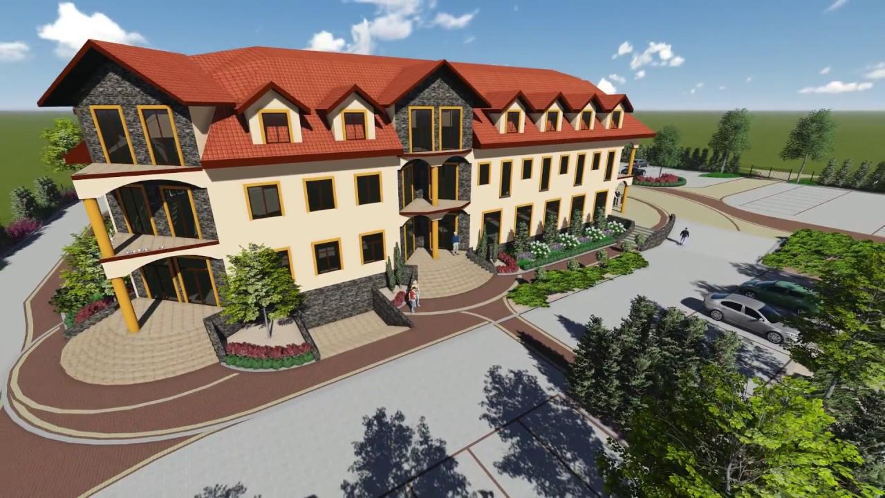 Ogrody Agnieszki Projekt Zagospodarowania Terenu Przy Hotelu Youtube