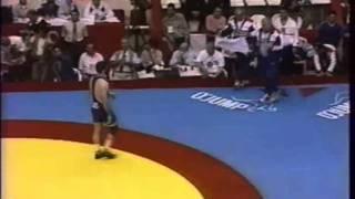 Alireza Heydari (IRI) vs Sagid Murtazaliev (RUS), 1999 World Championship