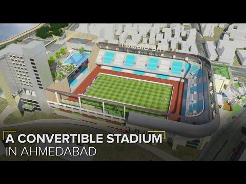 First Ever Outdoor-to-Indoor Stadium in India