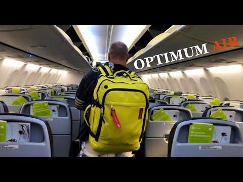 Туристический рюкзак для ручной клади в самолет OPTIMUM AIR. Лучший рюкзак для путешествий самолётом