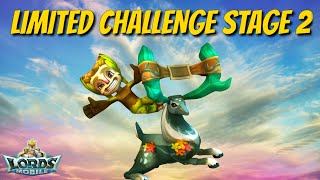 Limited Challenge Stage 2 Grove Guardian - Lords Mobile