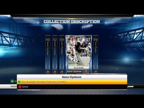 Madden 13 Ultimate Team | Gene Upshaw Ultimate Legend Collection