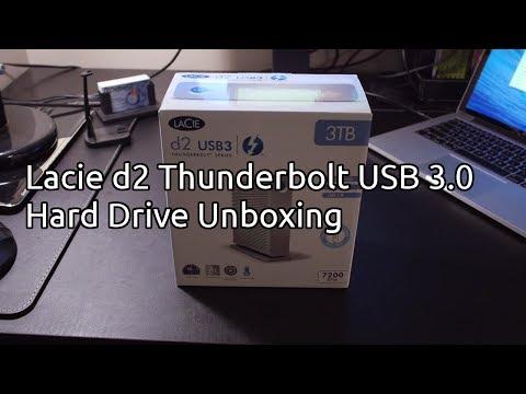lacie d2 thunderbolt 2 manual