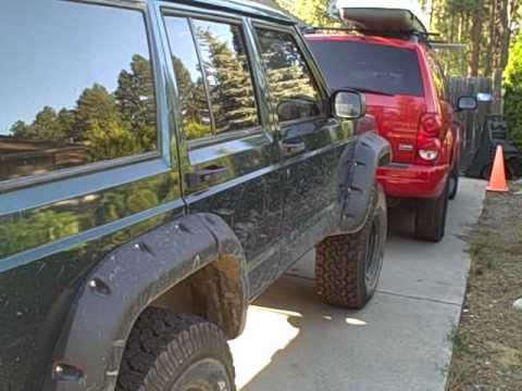 Jeep Cherokee 4 Inch Lift >> Lifted 1997 Jeep Cherokee 4x4 - YouTube