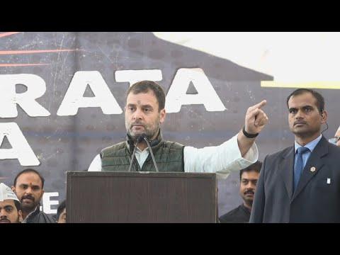 PM Modi has no credibility left: Rahul Gandhi at Naidu's strike
