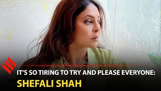 Shefali Shah: Carrying Relationship Tags, Responsibilities Can Be Exhausting For Women