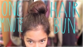 Quick n Easy Messy Hairbun Thumbnail