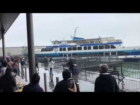 Minor injuries in San Francisco ferry crash