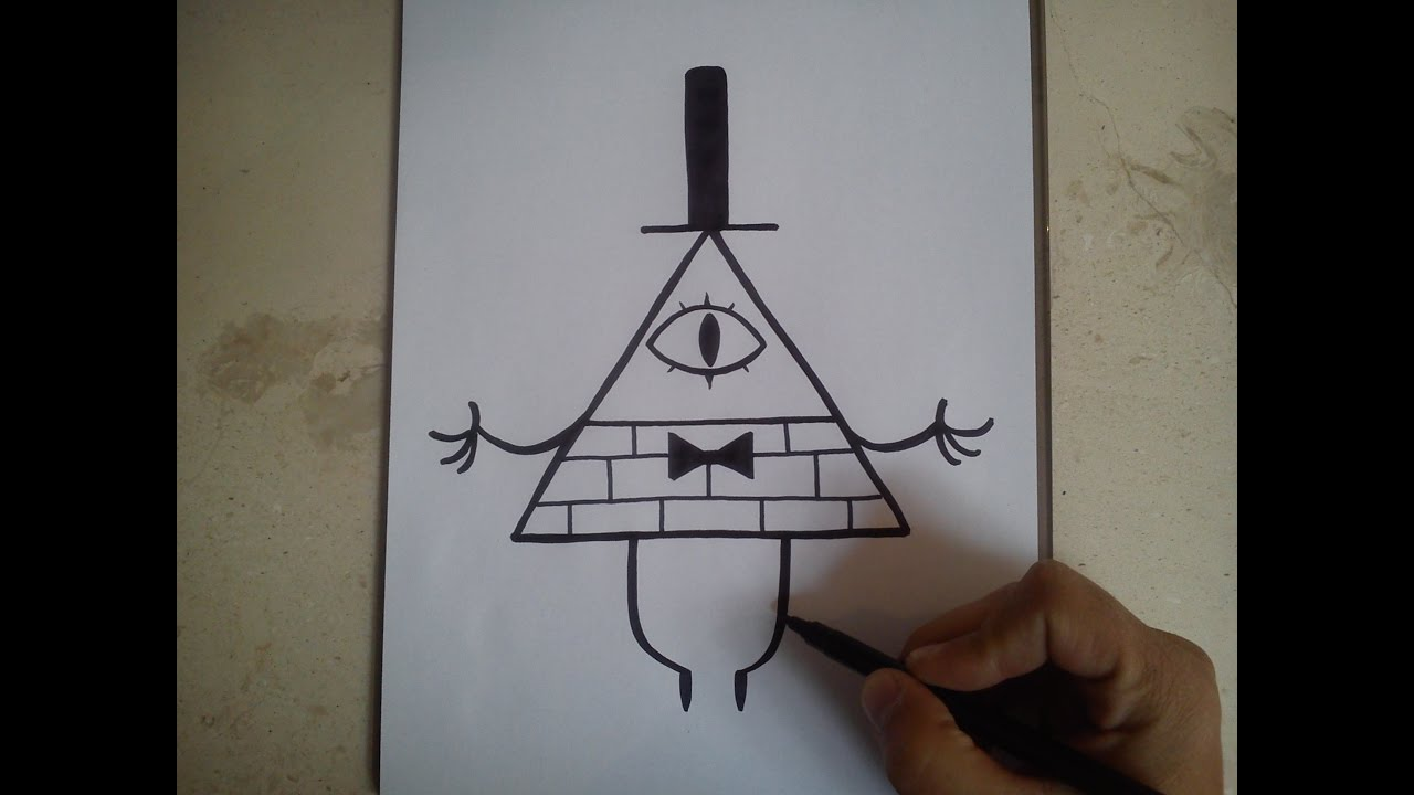 GRAVITY FALLS / How To Draw