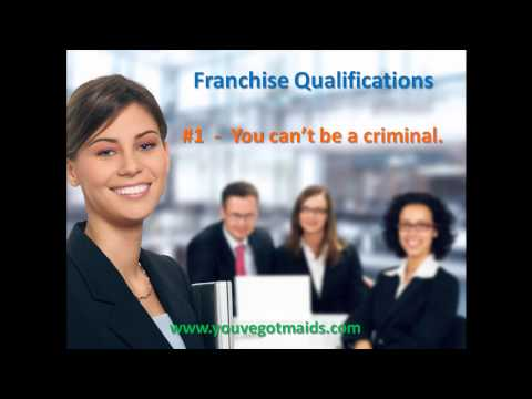 FRANCHISE APPROVAL DEPARTMENT REQUIREMENT #1 NO CRIMINAL