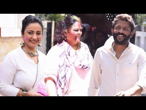 Shabana Azmi's Holi Celebration | Divya Dutta, Tanvi Azmi