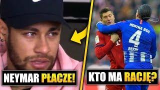 Lewandowski KŁAMIE? Neymar tęskni za MESSIM!