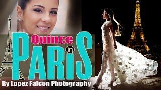 Lopez Falcon in Paris France Elissa Quince Photography Europe 15 Quinceanera video dresses Miami