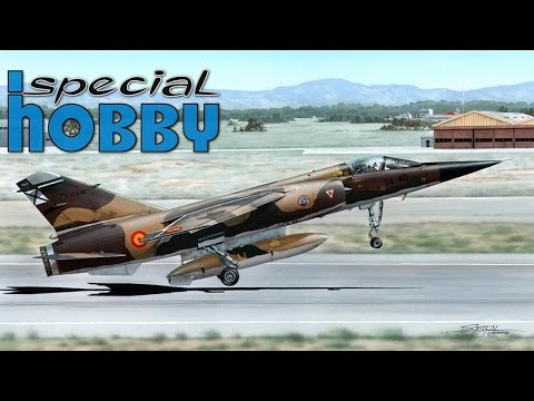 FULL VIDEO BUILD MIRAGE F.1 by SPECIAL HOBBY