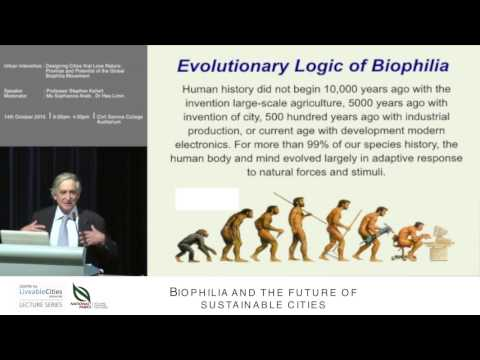 Panel (part 1): Biophilia and the future of sustainable cities