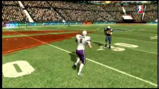 Backbreaker tackles on Xbox 360 ( Co-op with Z )