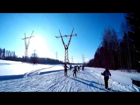 Как это было:Лыжня России 2016