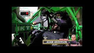 Grave Digger vs Mohawk Warrior Monster Jam World Finals Racing Round 2 2016