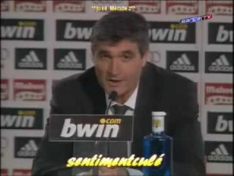 Rueda de prensa Juande Ramos - Real madrid 2-6 Barcelona La liga 2/04/09