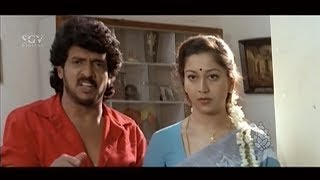 Upenrdra super talking about Dowry | Kannada Best Scene of Auto Shankar Movie