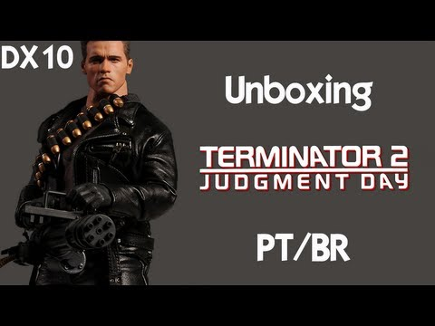 Caixa de Pandora #23 - Exterminador - T-800 - Hot Toys - DX10 - Review