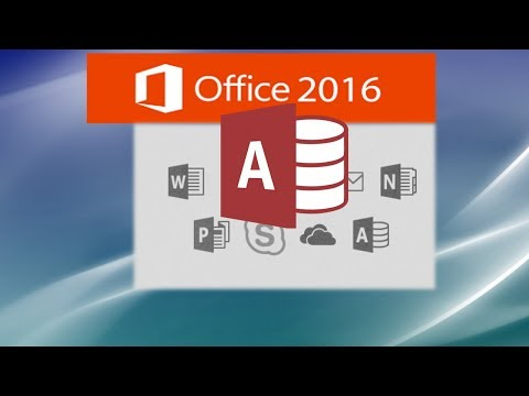 Microsoft Access 2016 Compete Tutorial - Access Made Easy by Sali Kaceli