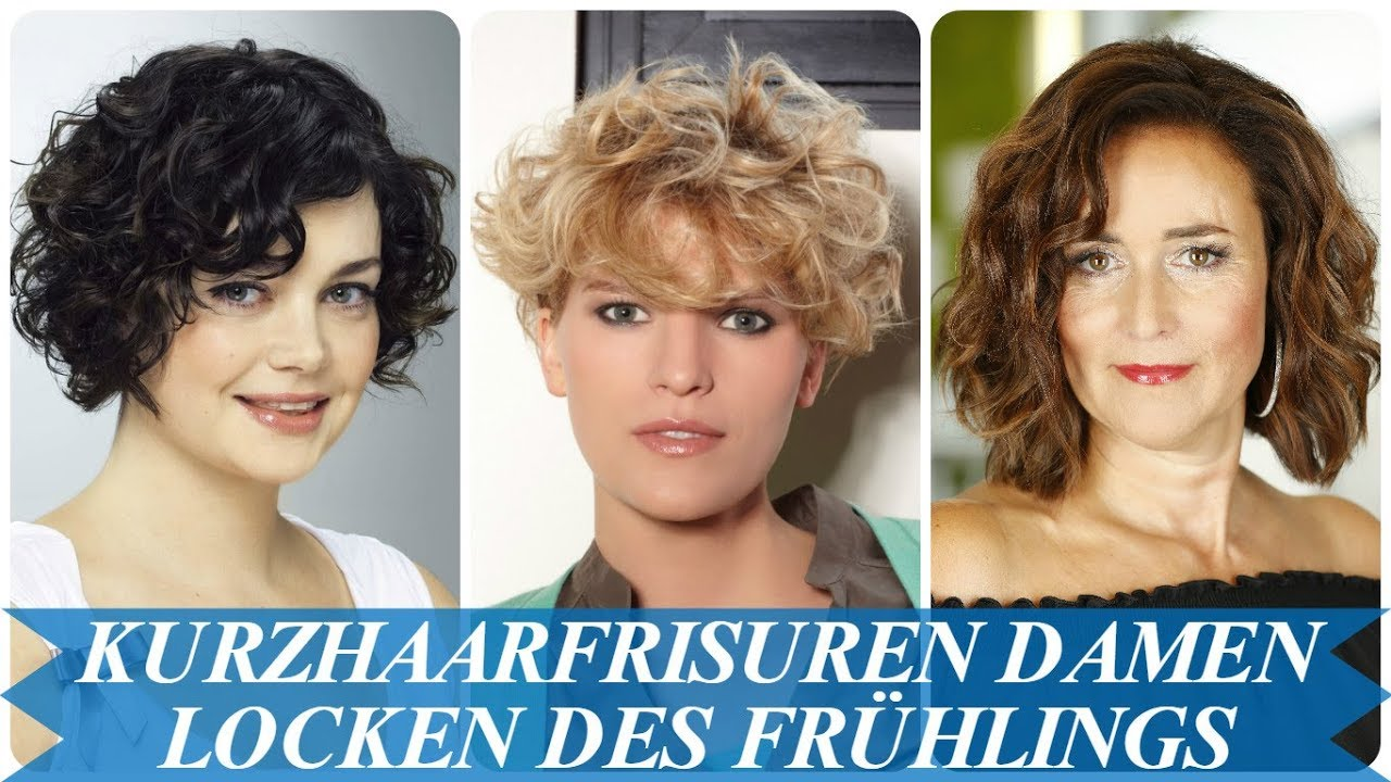 Unsere Top 20 Kurzhaarfrisuren Damen Locken Trends Des Fruhlings 2018