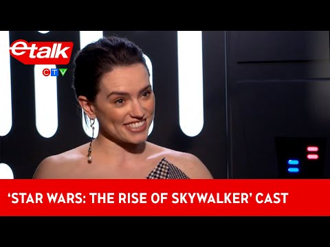 Daisy Ridley Tells Us About How She Prepared To Take On Adam Driver In 'Star Wars' | Etalk