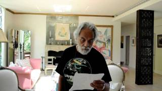 "Tommy Chong giving Rick Simpson, ""Phoenix Tears"" and ""Run From The Cure"" a shout out"