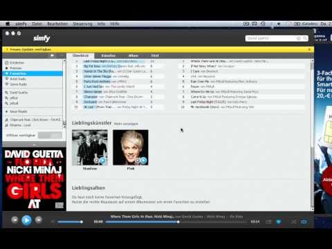 Simfy - kostenlos Musik legal hören