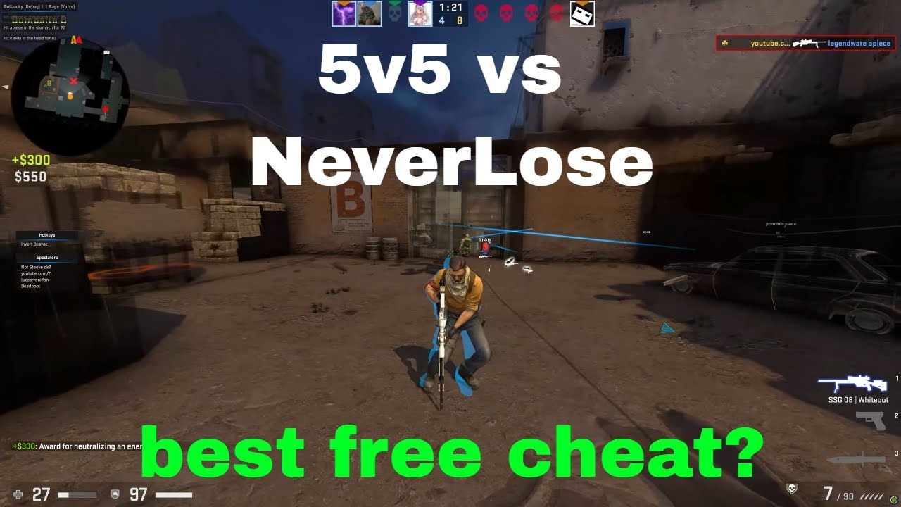 Is LuckyCharms The Best FREE CSGO Cheat? 5v5 MM HvH