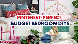 Pinterest Goals: Budget Bedroom DIYs - HGTV Handmade