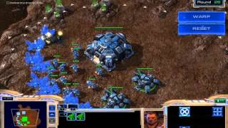 Starcraft II - [Starcraft Master] How to Clear Round 26 (Scorched Earth)