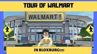 Walmart Tour || Finished Speed-Build || Roblox Bloxburg || Part. 2
