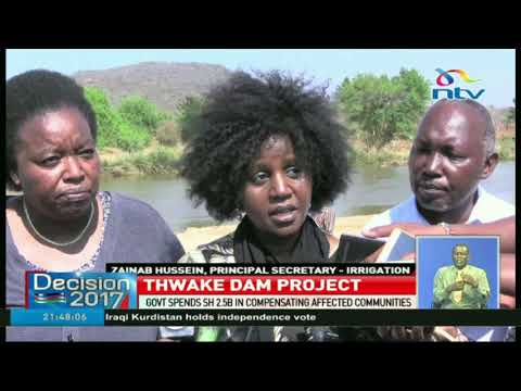 Government to spend Ksh. 2.5bn in Thwake Dam compensation