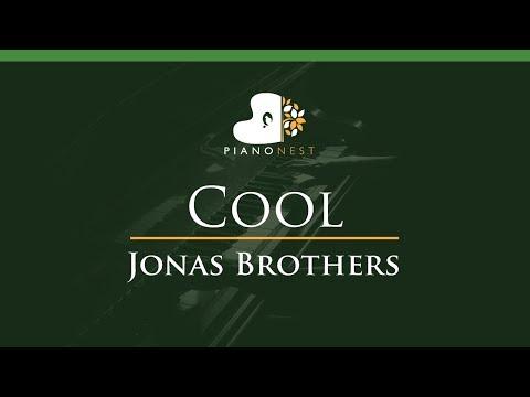 Jonas Brothers - Cool - LOWER Key (Piano Karaoke / Sing Along)