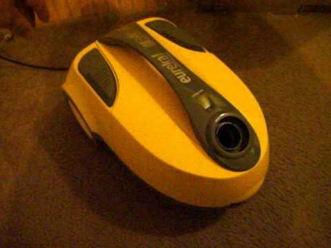 Yellow Eureka Rally 2 Vacuum Test