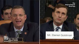 WATCH: Rep. Doug Collins' second round of questioning of committee lawyers