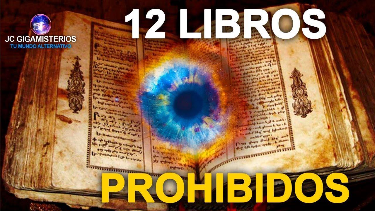 12 Libros PROHIBIDOS, léelos bajo tu PROPIO RIESGO ¿TE ATREVES?