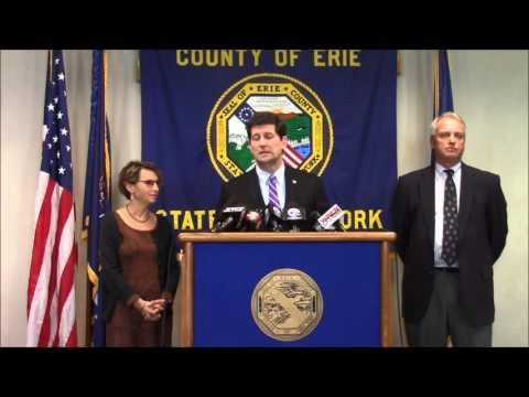 Erie County Executive Mark Poloncarz Announces Major Lead Initiative