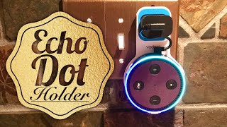 Amazon Echo Dot Outlet Wall Mount Holder by Vodool Review