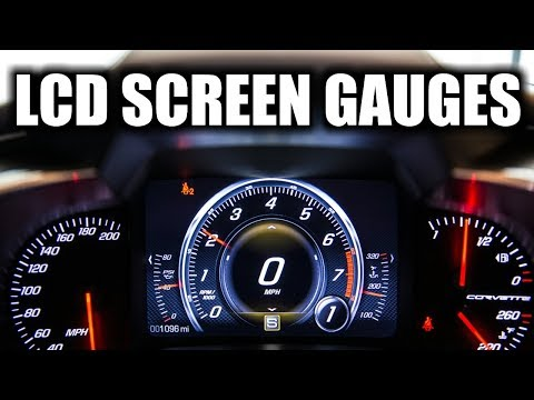 C7 Corvette Custom Gauge Dashboard Setup Heads Up Display Configuration