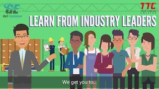Contempopary Style of Explainer Video For Tech Terrain College