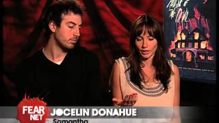 The House of the Devil – Ti West and Jocelin Donahue Interviews
