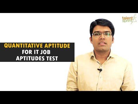 Quantitative Aptitude tricks and sample questions for IT Job Aptitude Test | TalentSprint