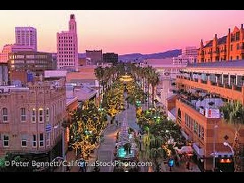 A Walk Down 3rd Street Promenade, Santa Monica, California