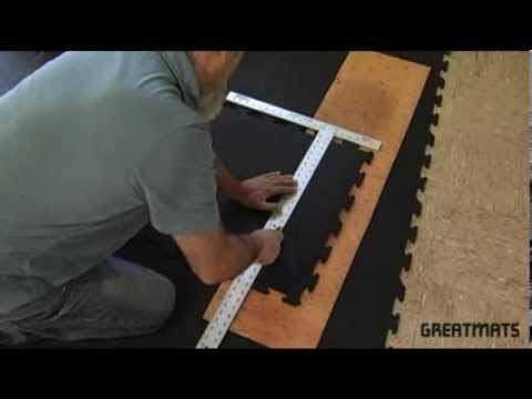 Interlocking Rubber Floor Tiles - Easy Installation Video ...