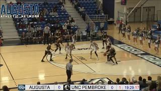 MBB: Augusta vs. UNC Pembroke