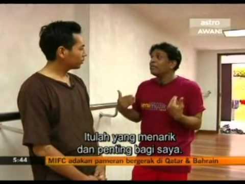 Malaysian Dance Personality Joseph Gonzales